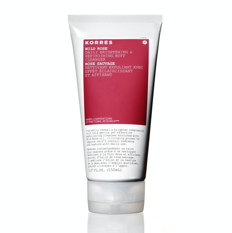 Korres Wild Rose Daily Brightening and Refining Buff Cleanser