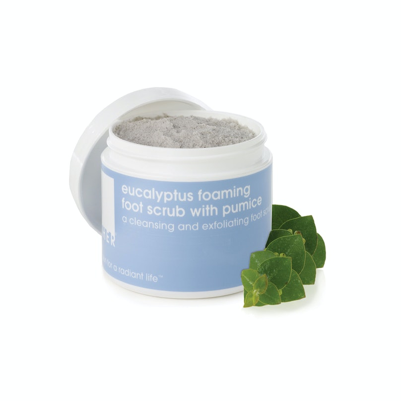 Lather Eucalyptus Foaming Foot Scrub with Pumice