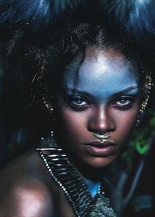 Rihanna W September Cover