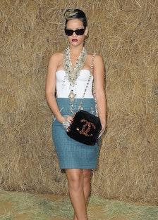 Rihanna in Chanel in 2009