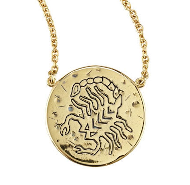 Amy Zerner Scorpio necklace