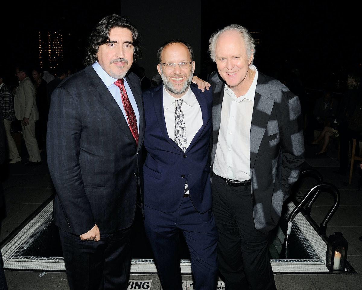 Alfred Molina, Ira Sachs, and John Lithgow