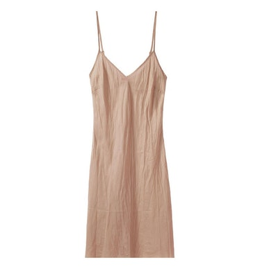 Organic by John Patrick slip dress in Fawn