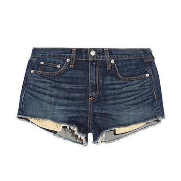 Rag & Bone Mila cut-off denim shorts