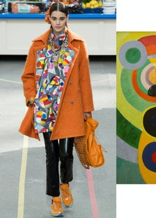 Chanel and Robert Delaunay's Rhythm, Joie de Vivre