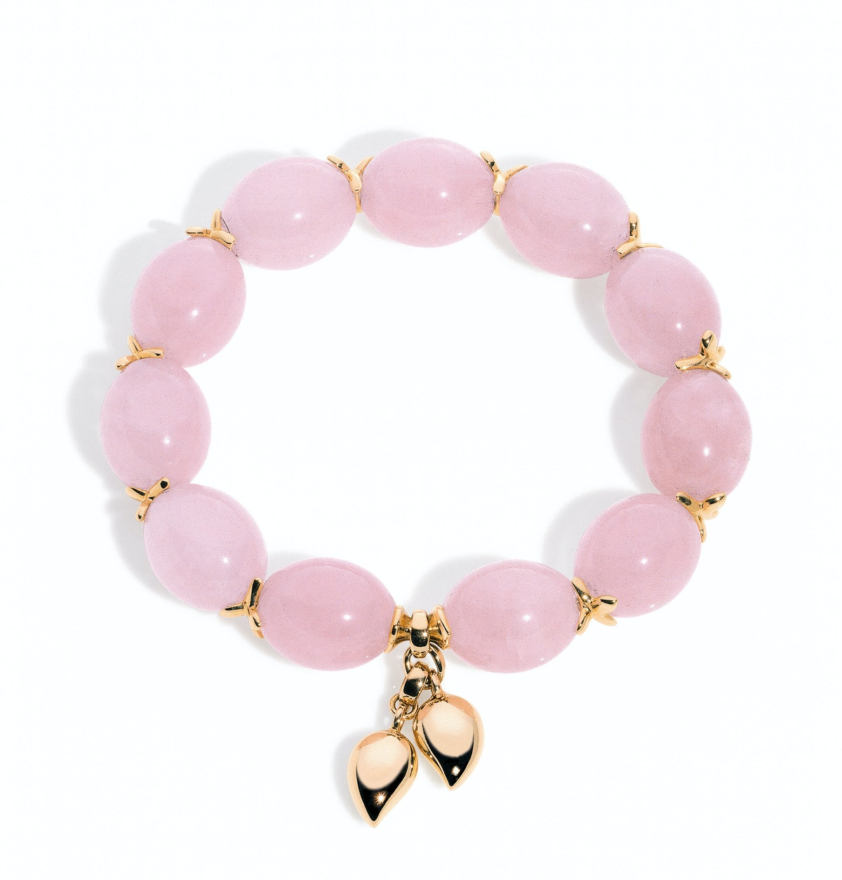 Tamara Comolli Fine Jewelry Collection gold and chalcedony bracelet