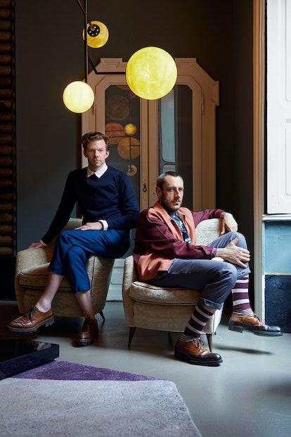 Dimore Studio's Britt Moran and Emiliano Salci