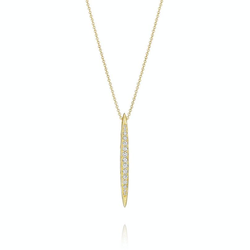 Tacori gold and diamond necklace