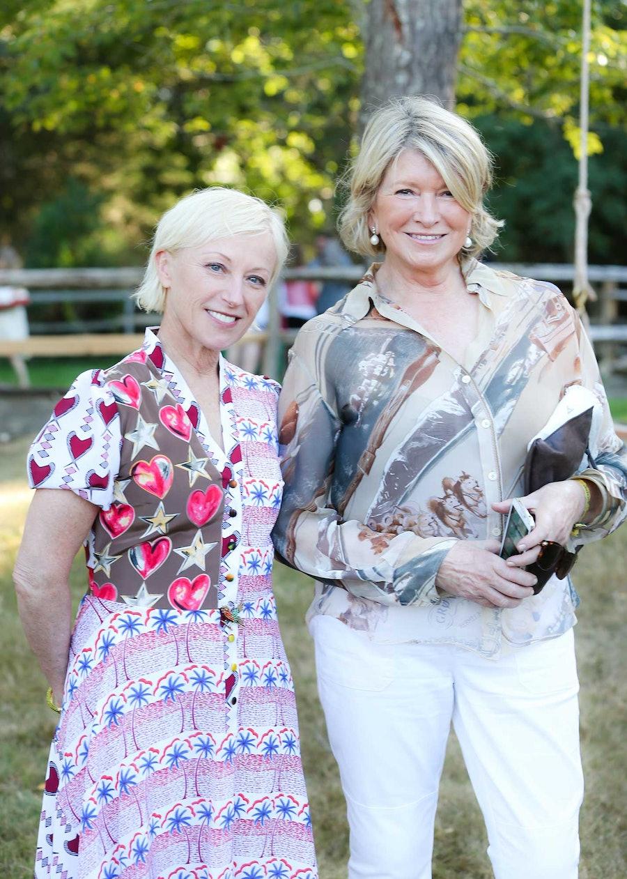 Cindy Sherman and Martha Stewart
