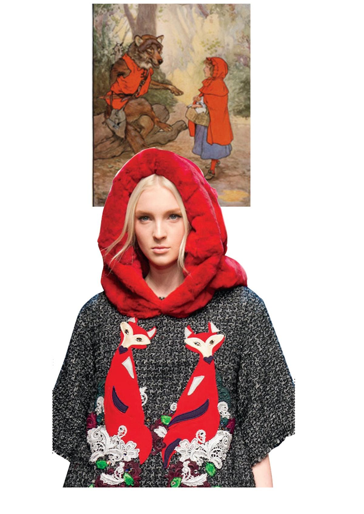 Dolce & Gabbana hooded jacket