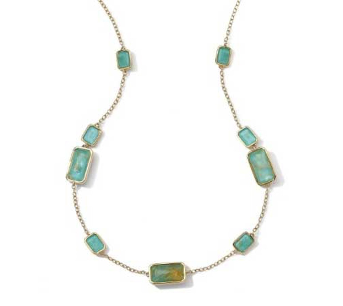 Ippolita 18K Gold Rock necklace