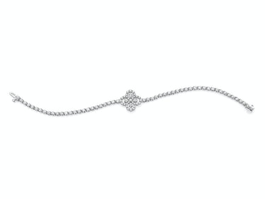 Harry Winston platinum and diamond bracelet