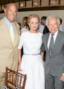 Oscar de la Renta, Carolina Herrera, and Ralph Lauren