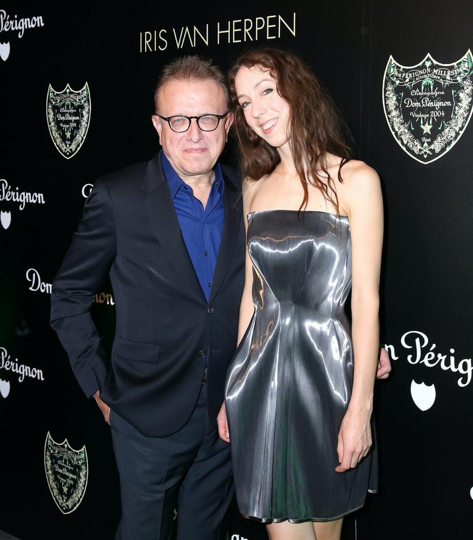 Richard Geoffroy and Iris van Herpen
