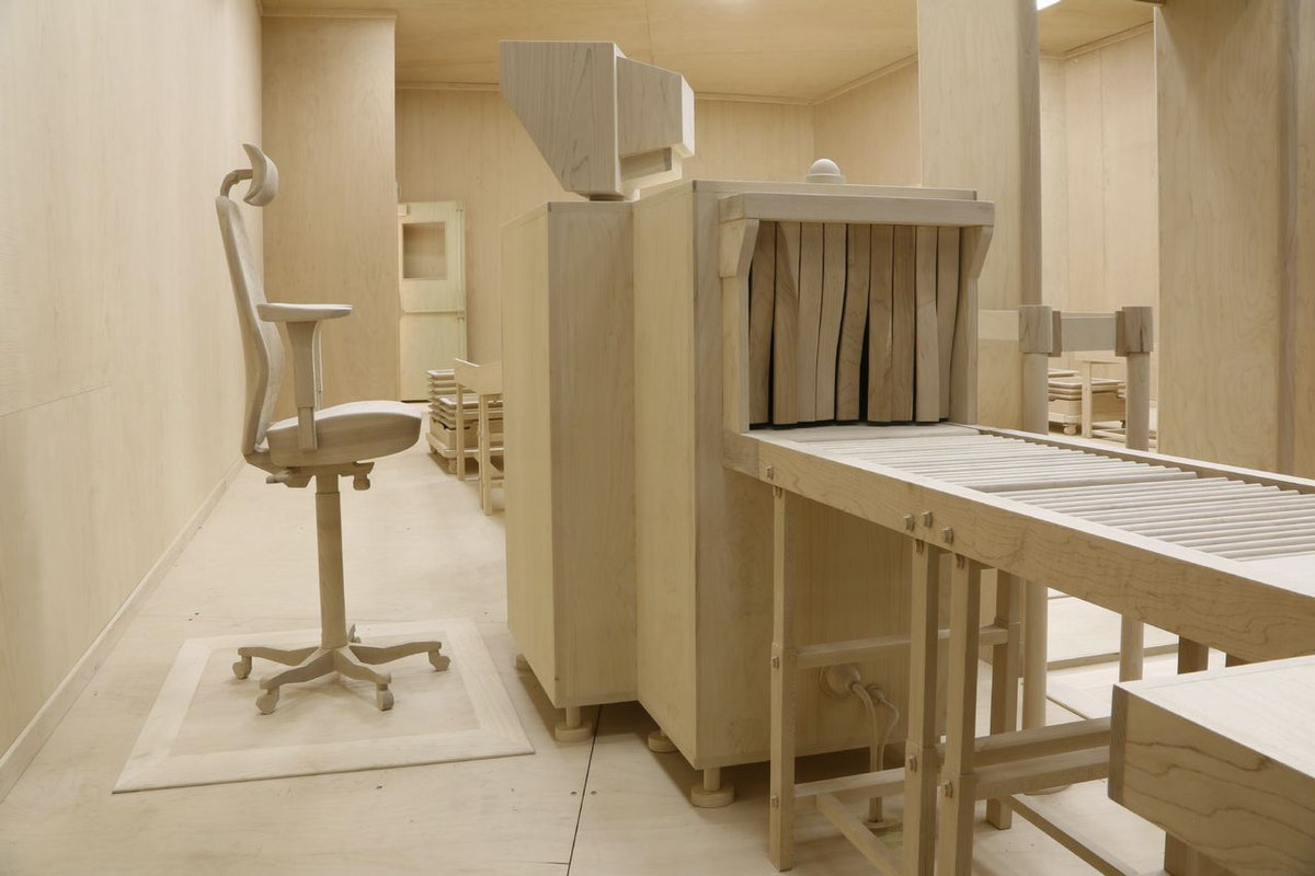 Roxy Paine, at Marianne Boesky