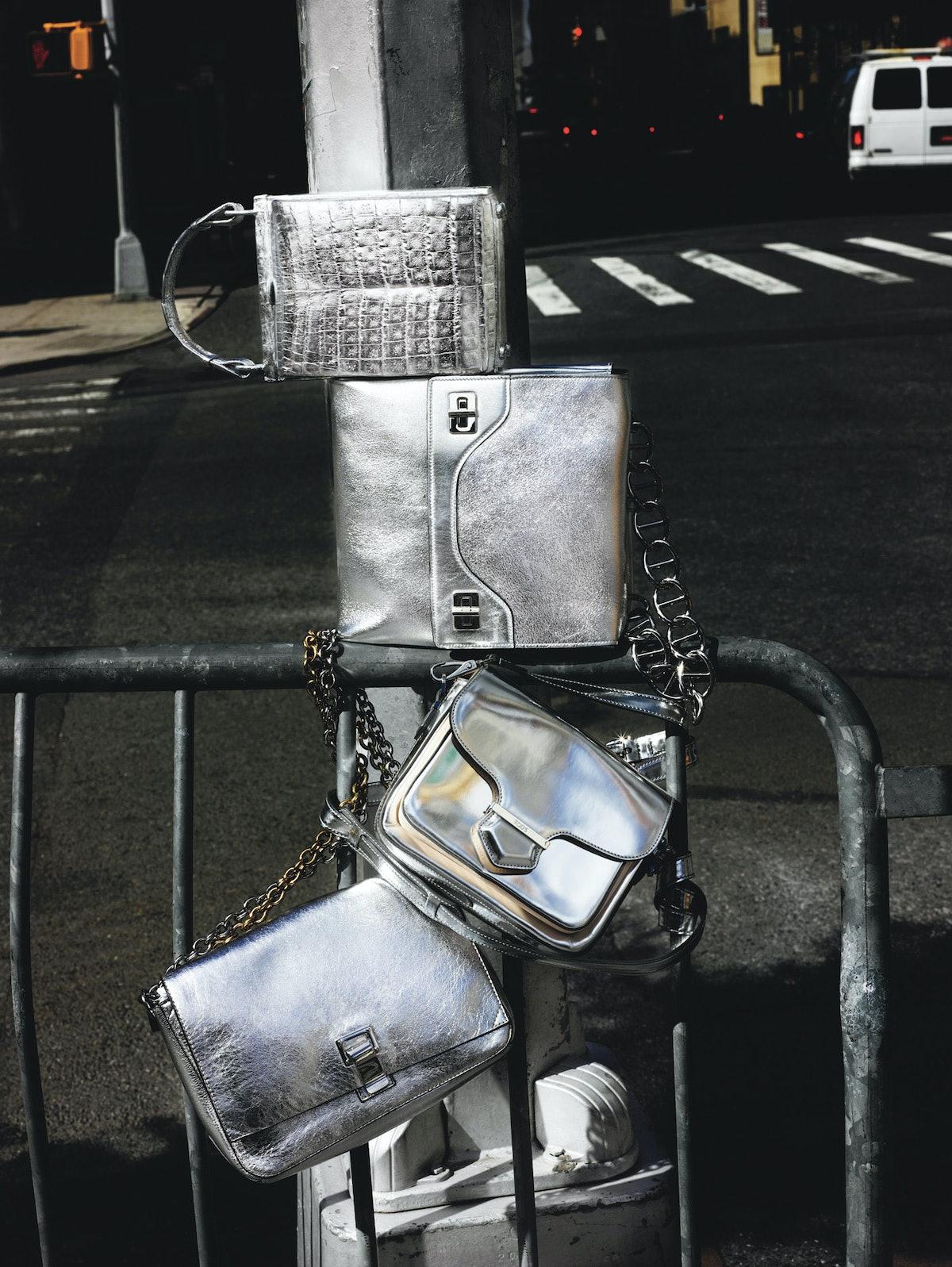 Best Metallic bags fall 2014