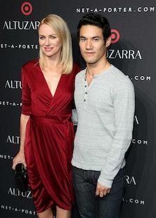 Naomi Watts and Joseph Altuzarra
