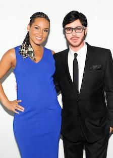 Alicia Keys and Francois Nars