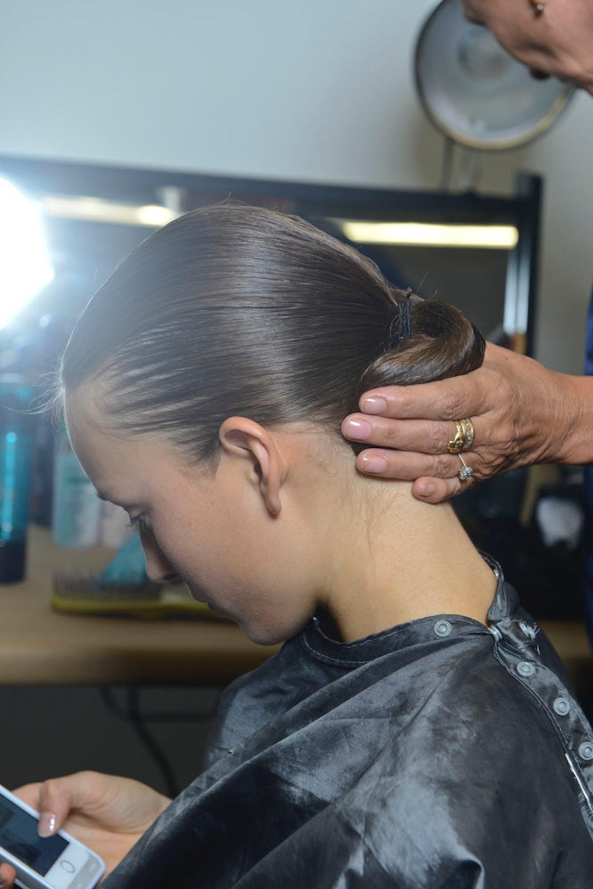 Altuzarra Spring 2015 Hair
