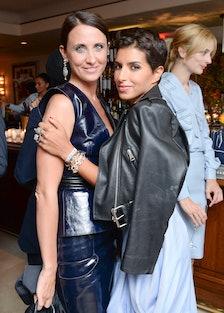 Alessandra Facchinetti and Princess Deena Abdulaziz