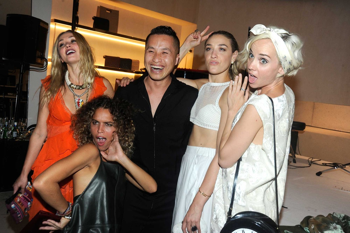 Kate Greer, Cleo Wade, Phillip Lim, Mia Moretti, and Margot