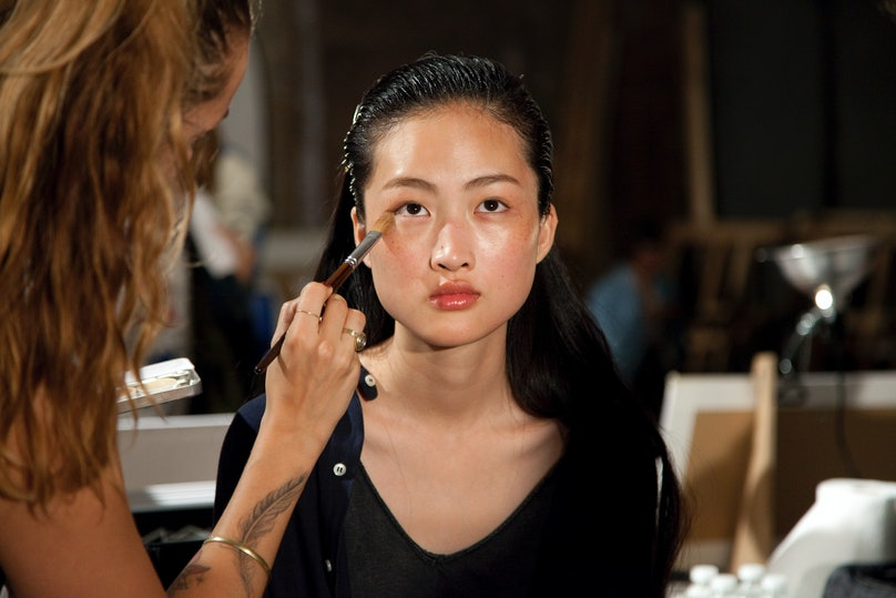 Proenza Schouler Spring 2015 Backstage Beauty