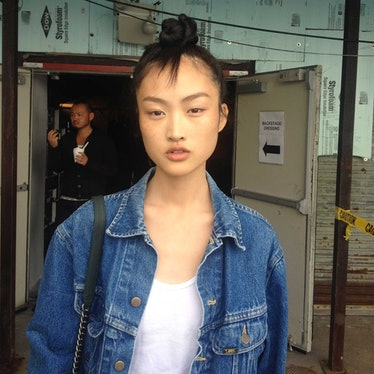 Backstage at Marc by Marc Spring 2015
