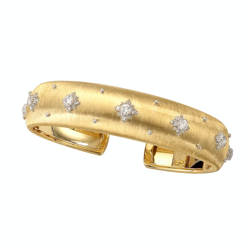 Buccellati gold and diamond bracelet