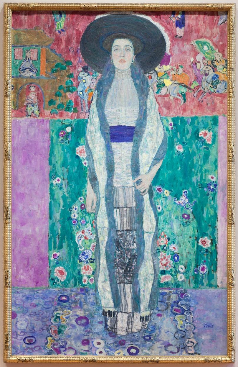 "Gustav Klimt's ""Adele Bloch-Bauer II,"" at MoMA"