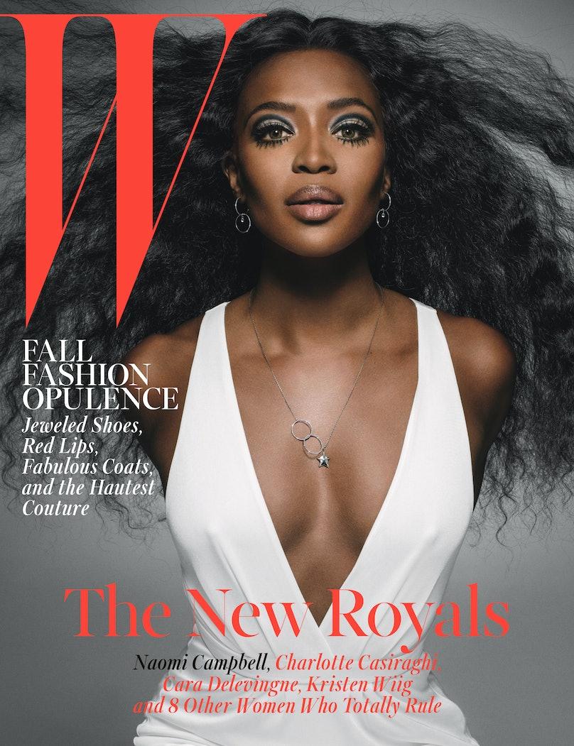 Naomi Campbell W Magazine October 2014