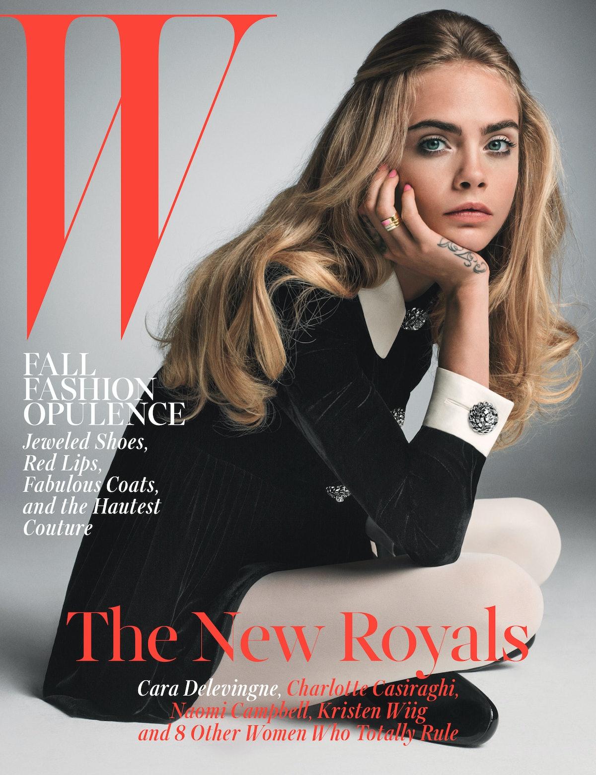 Cara Delevingne W Magazine October 2014