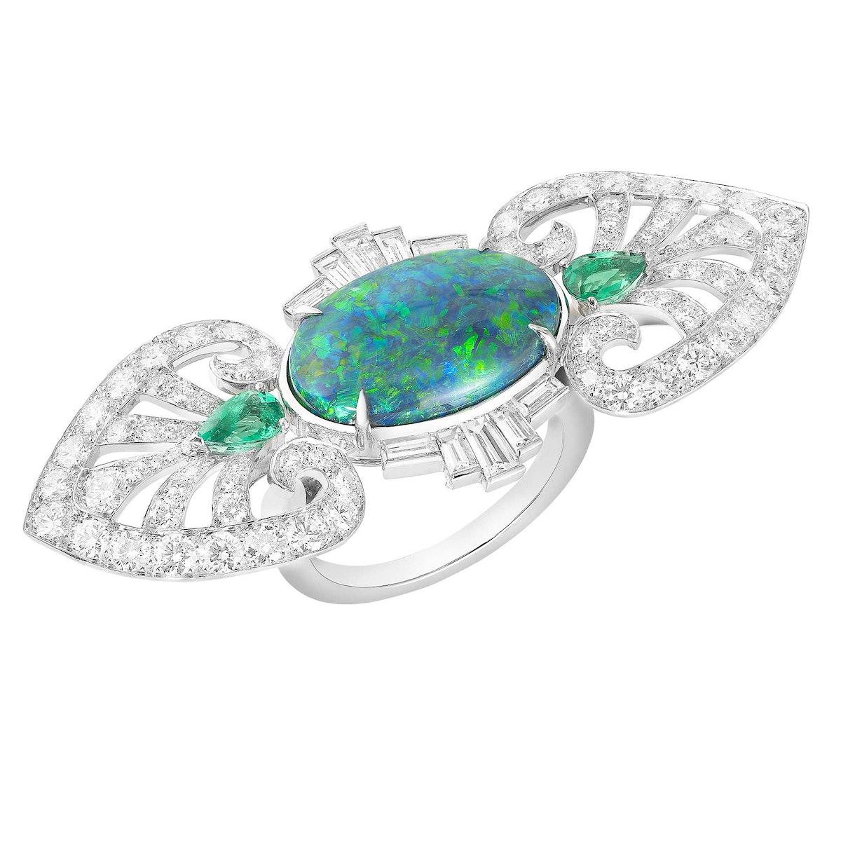 Boucheron Indian Palace Ring