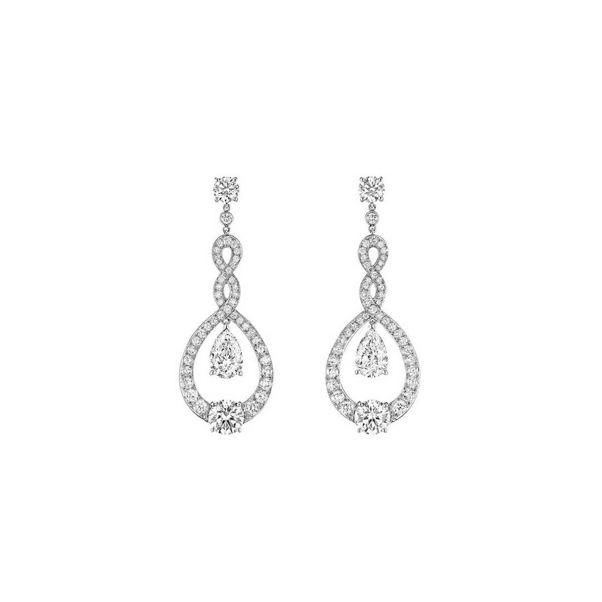 Chaumet Dancing Water Earrings