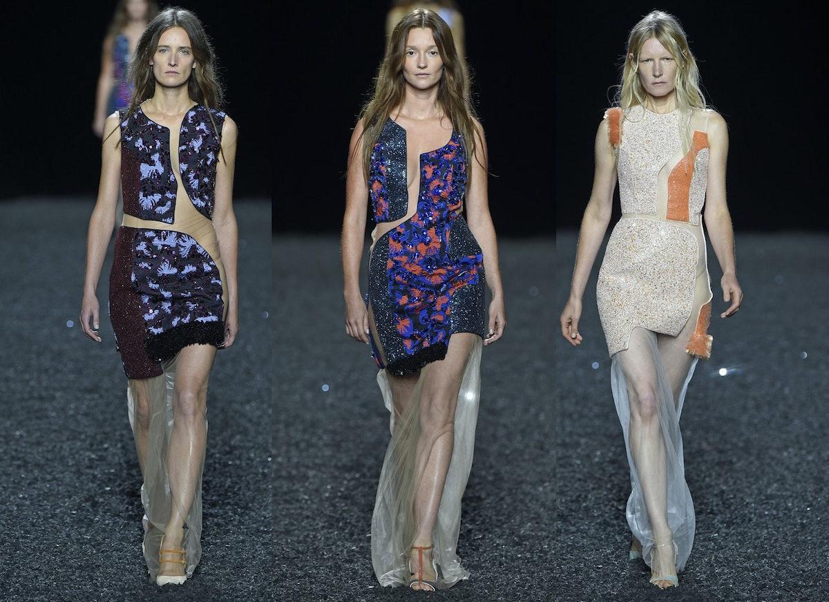 Models of a Certain Age at Mary Katrantzou