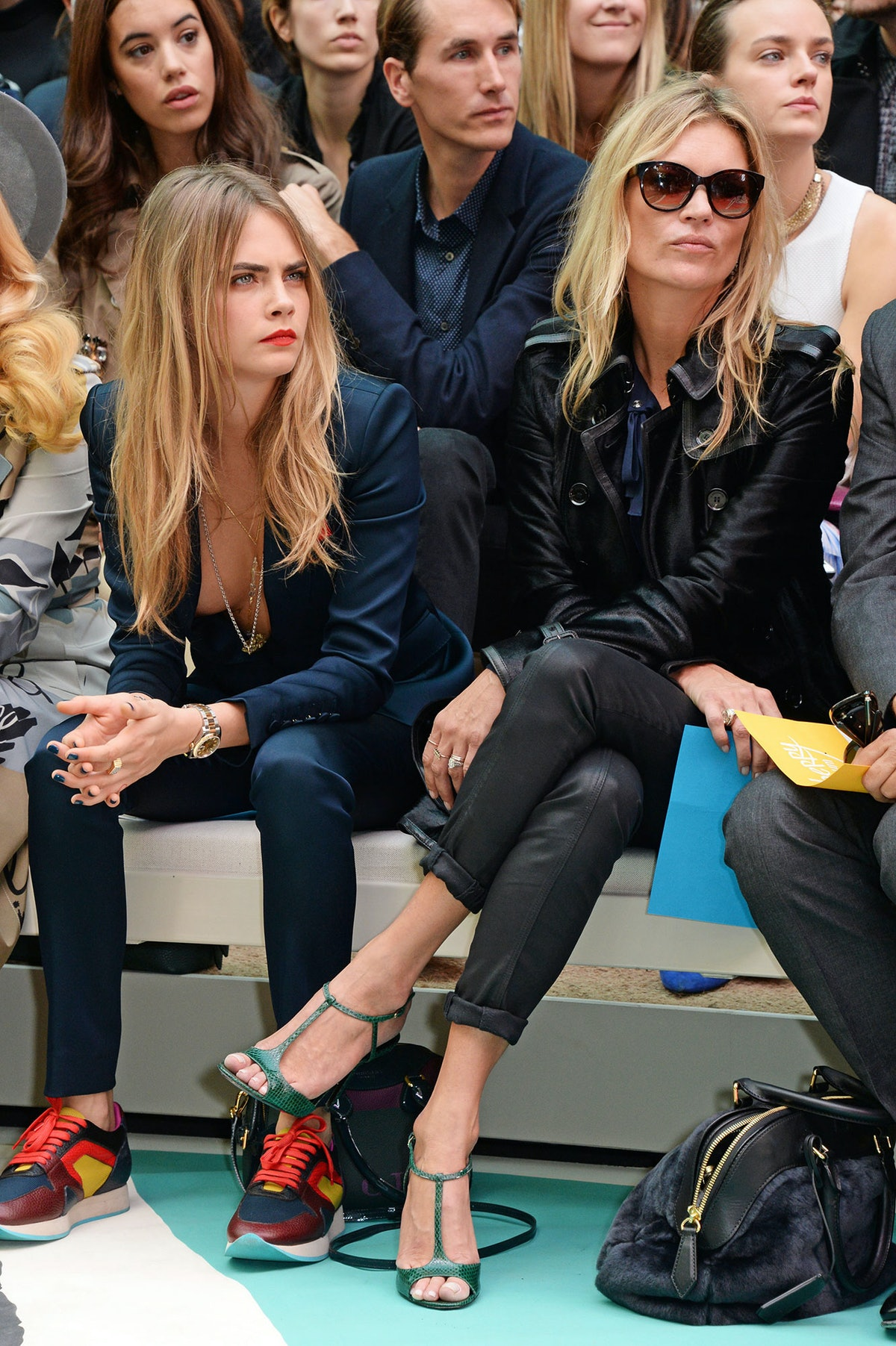 A Dynamic Duo - Cara Delevingne and Kate Moss