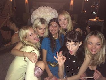Poppy Delevingne, Elektra Kilbey, Frida Giannini,
