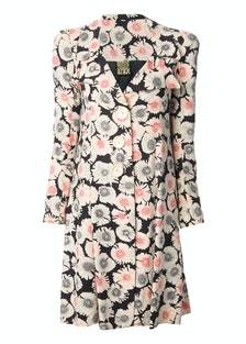 Biba Vintage Floral Print coat