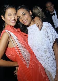 Rosario Dawson and Goga Ashkenazi