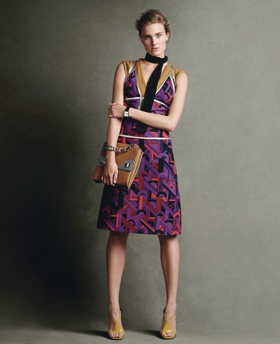 Graphic Prada Dress