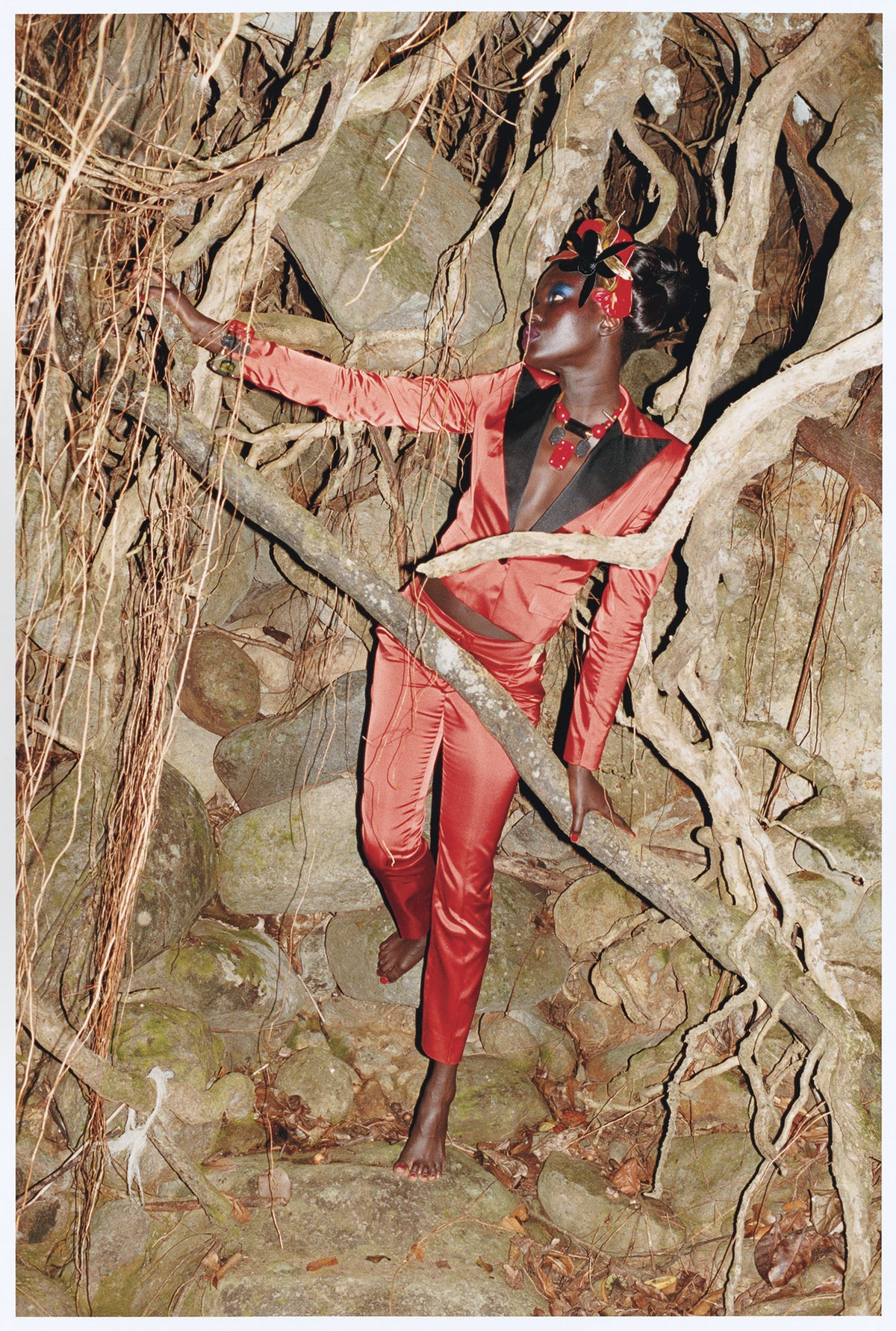 """""""Dominica"""" photographed by Juergen Teller, styled by Camilla Nickerson; W Magazine March 2009"""