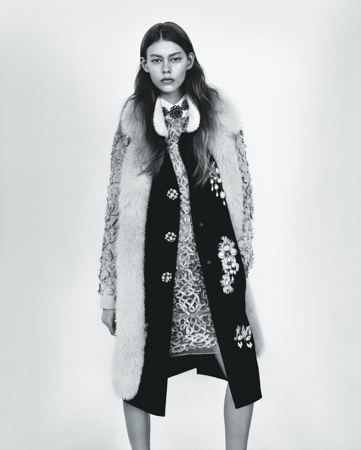 """""""Natural Selection"""" photographed by Alasdair McLellan, styled by Marie-Amelie Sauvé; W Magazine Augu..."""