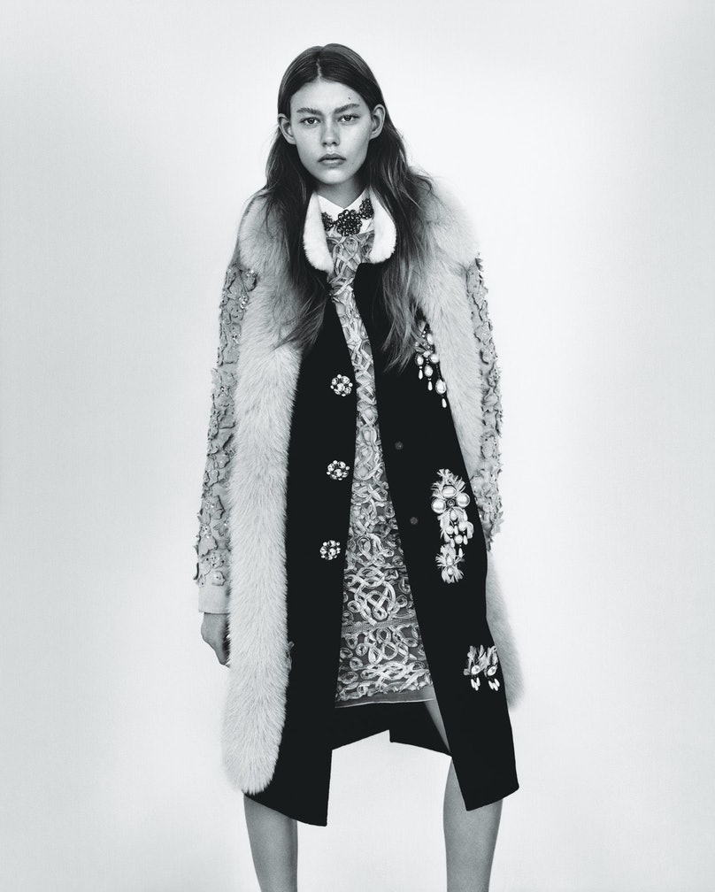 """""""Natural Selection"""" photographed by Alasdair McLellan, styled by Marie-Amelie Sauvé; W Magazine August 2012."""