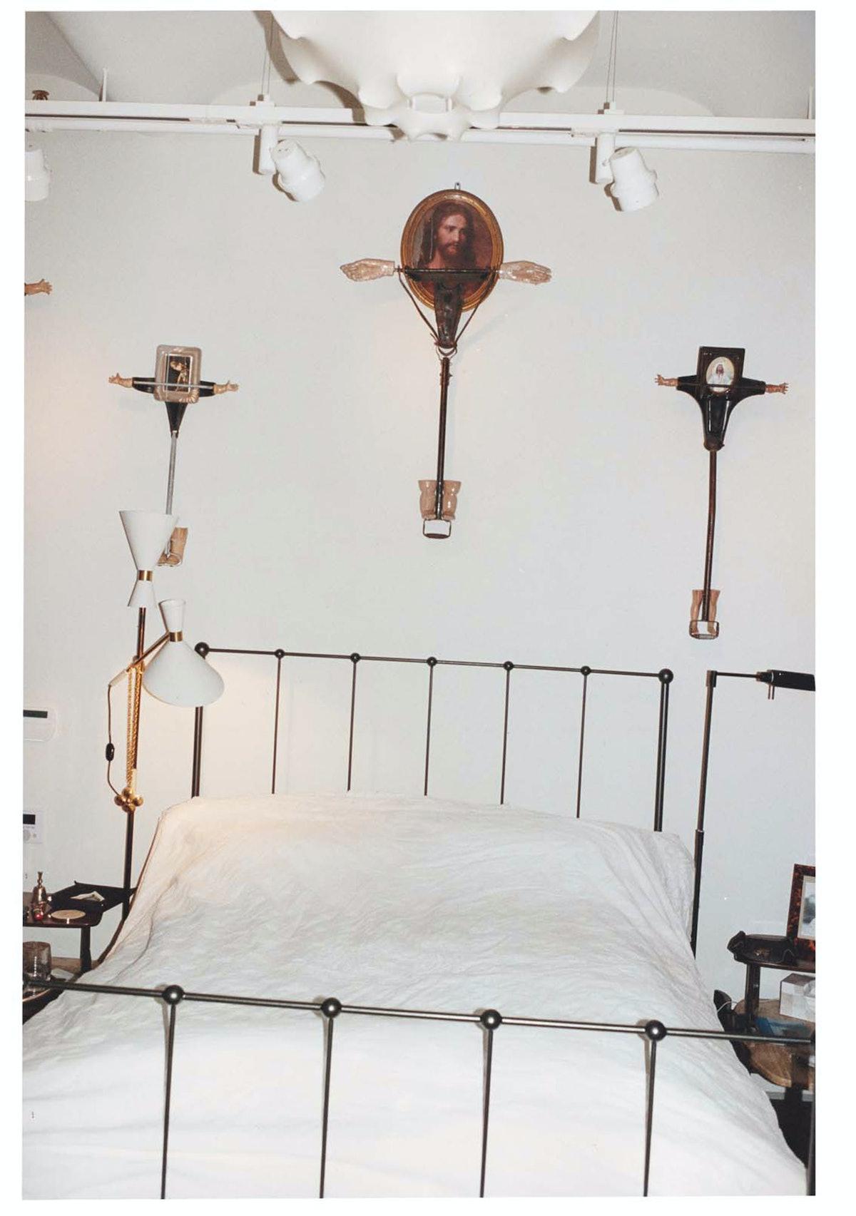 Gloria von Thurn und Taxis's Bedroom by Tim Walker