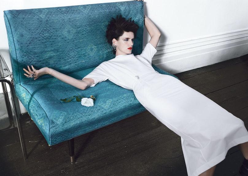 Hail Pale; W Magazine May 2012