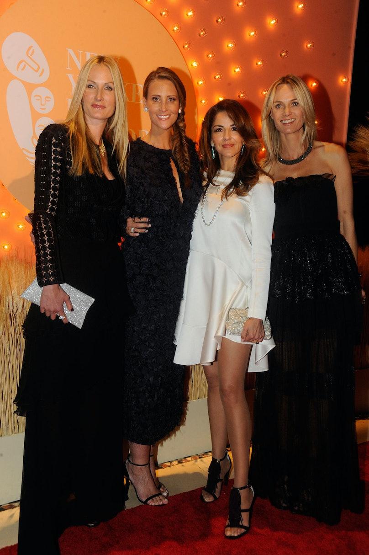 Christine Mack, Stephanie Winston Walkoff, Dayssi Olarte de Kanavos, and Lise Evans