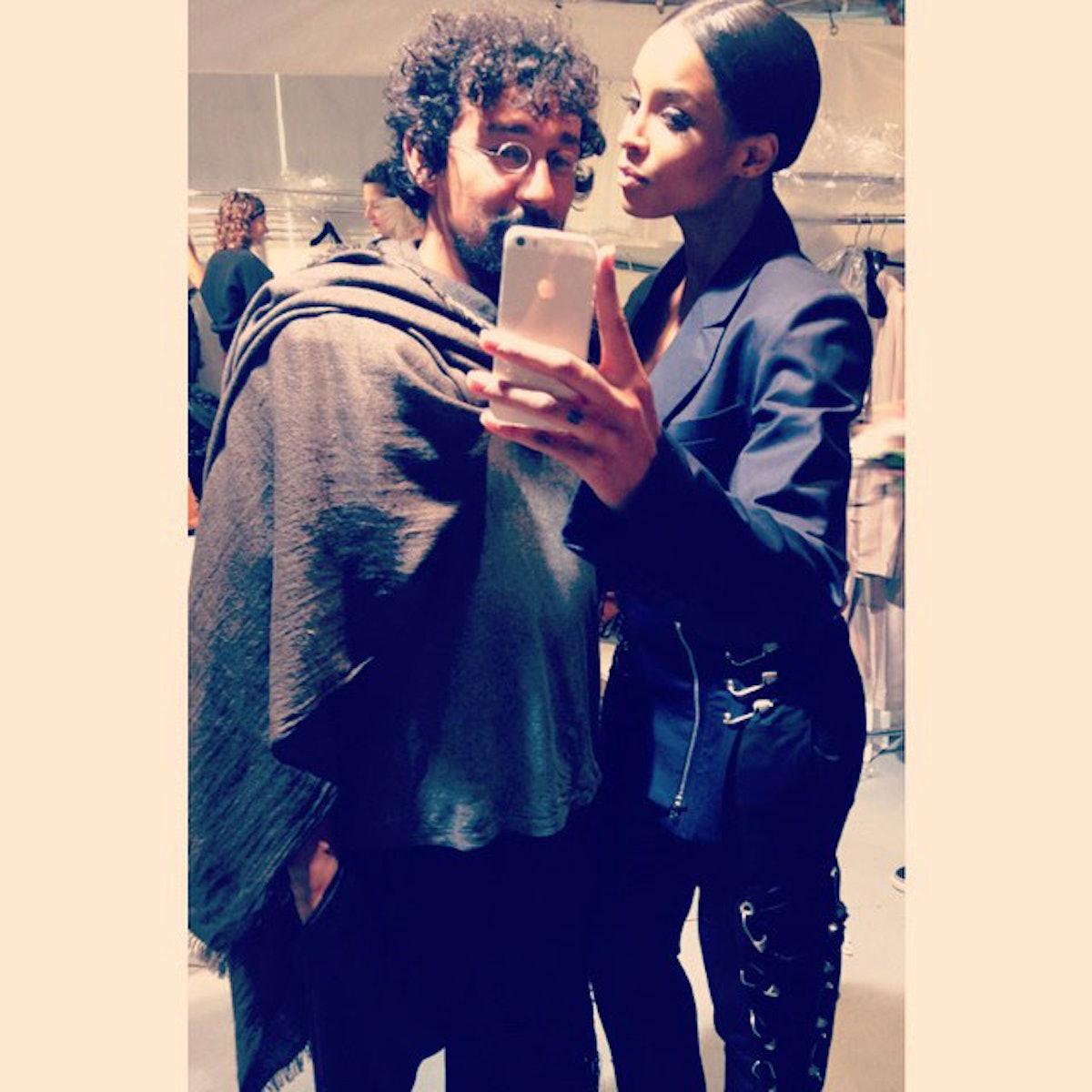 Ciara and Haider Ackermann