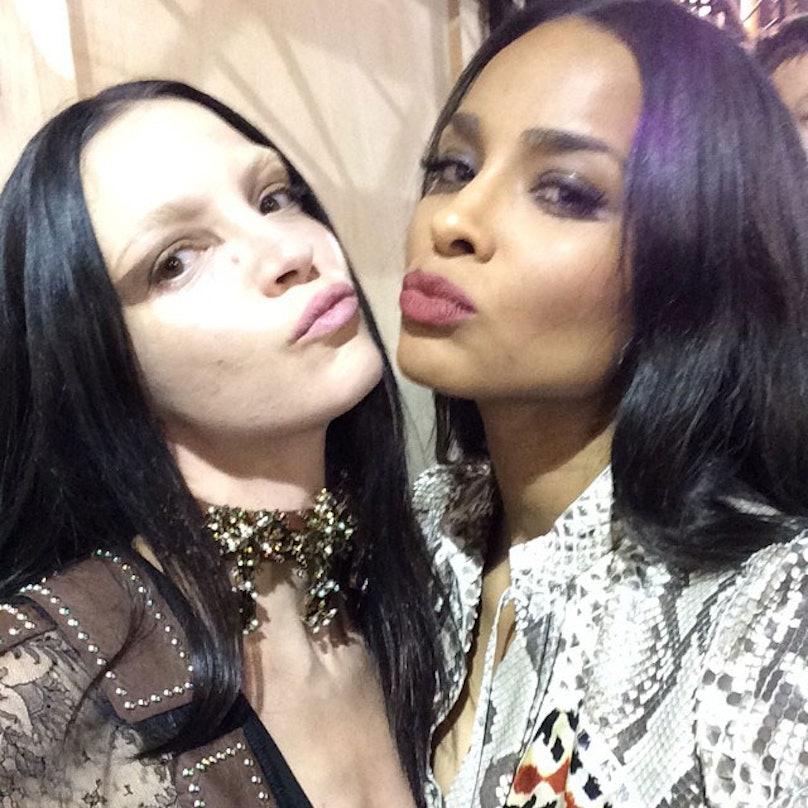 Ciara and Mariacarla take a selfie