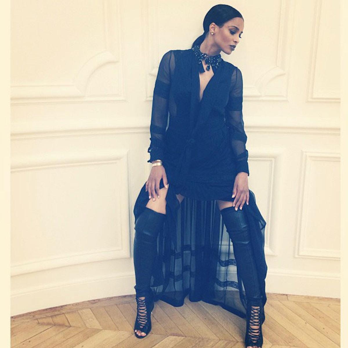 Ciara in Givenchy