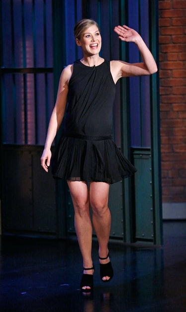 "Rosamund Pike on ""Late Night with Seth Meyers"""