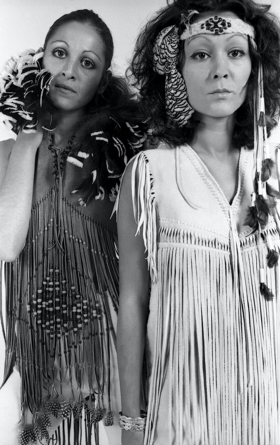 Colette Harron and Stella Douglas